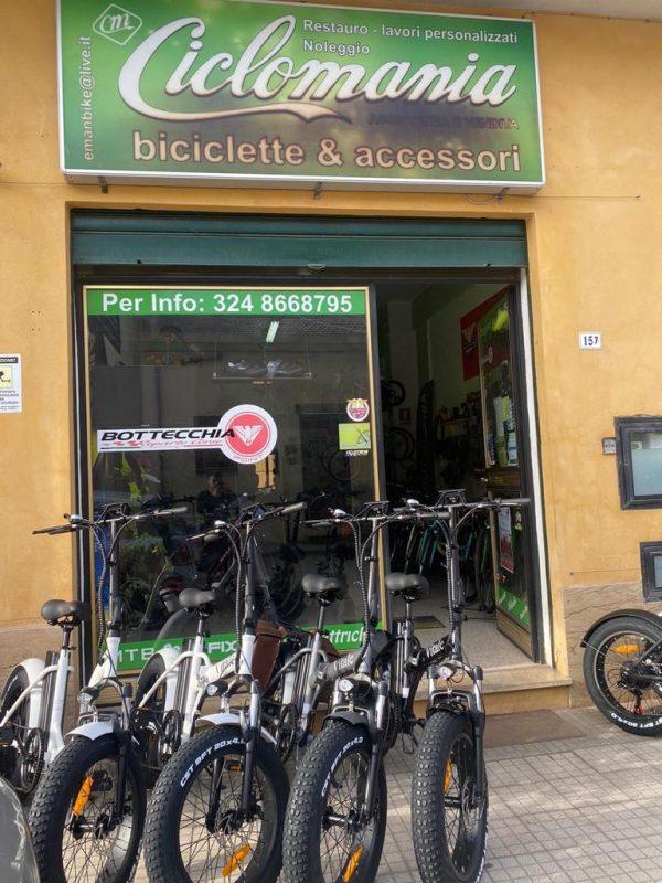 vari-colori-fat-bike-elettrica-pieghevole-telaio-dritto